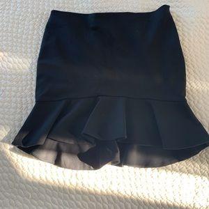 ZARA Woman skirt with flounce